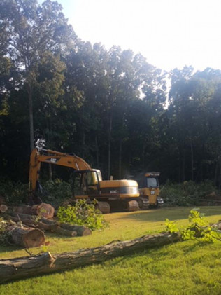 Land Clearing, Memphis, TN
